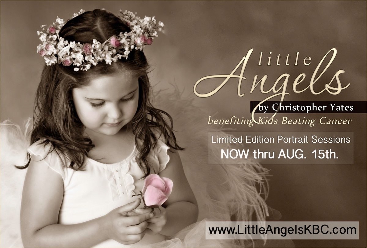 Little Angels Portrait benefiting Kids Beating Cancer